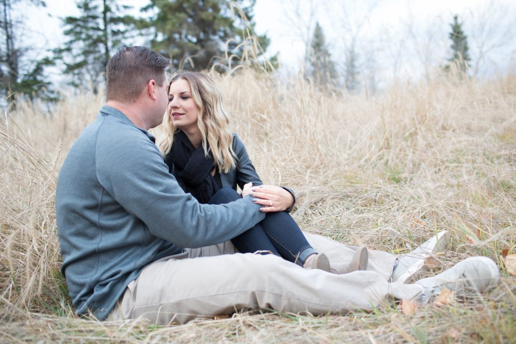 Engagement photographers Edmonton Strathcona Science Park