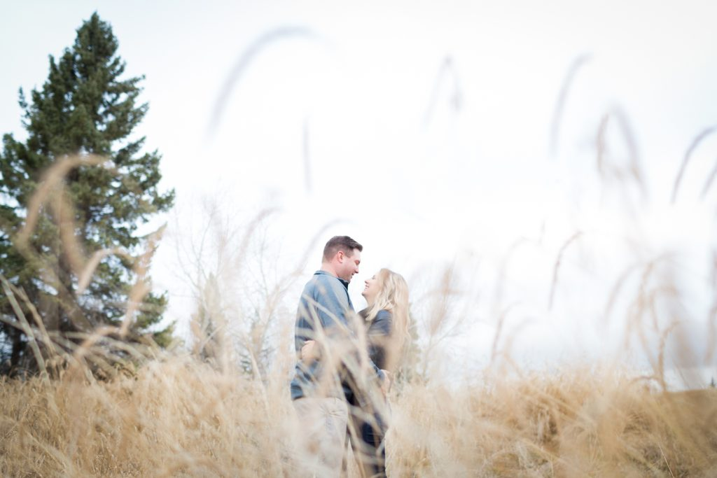 Strathcona science park engagement photos - autumn engagement photos