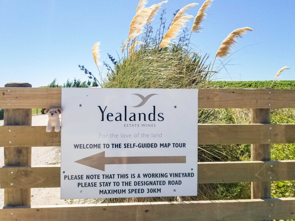 Yealands winery self guided driving tour