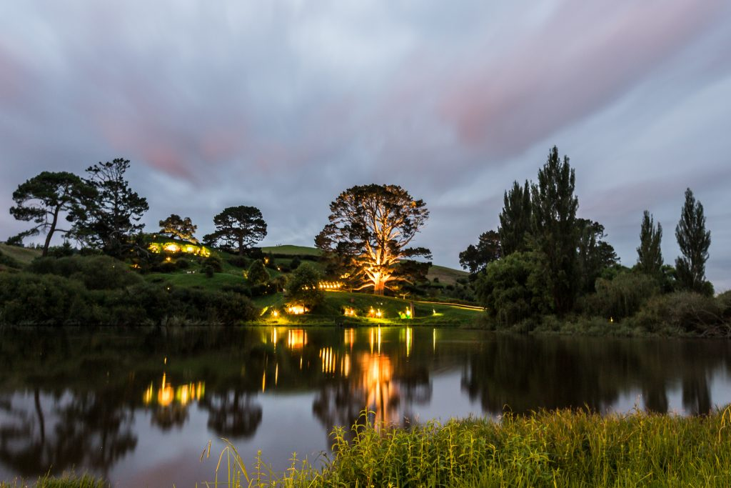 Party Tree Hobbiton Movie Set Evening Banquet Tour Dinner Pictures