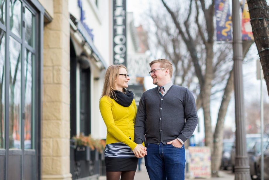 Unique Edmonton Winter Engagement – David & Michelle