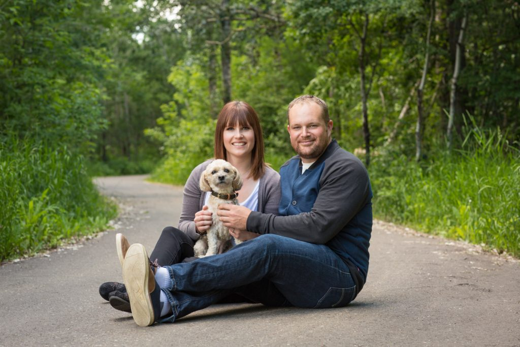 Big Lake Park Wetaskiwin engagement photos