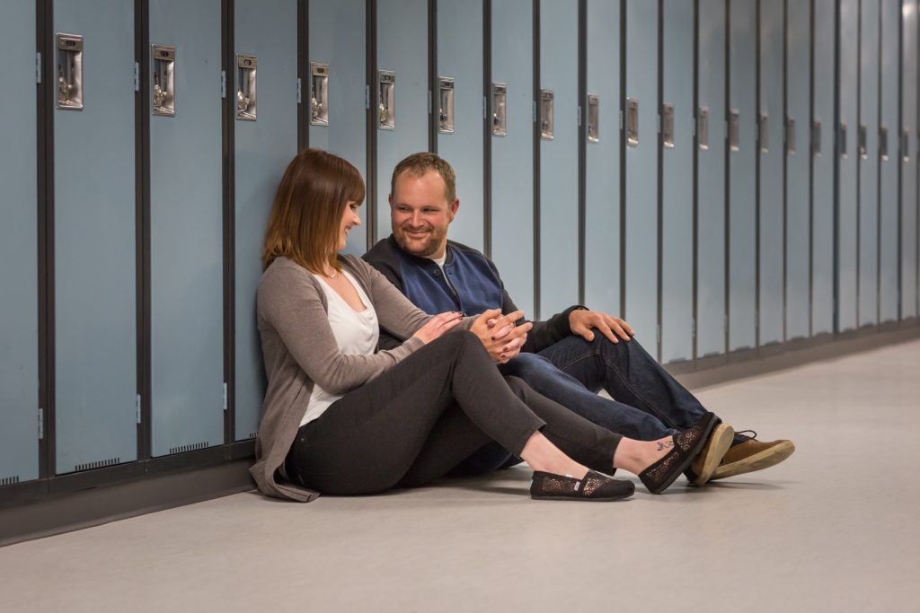Wetaskiwin engagement photos - Wetaskiwin high school