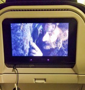 Air New Zealand In Flight Entertainment.