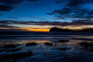 Castlepoint Lighthouse Sunrise Lake Ferry Sunset