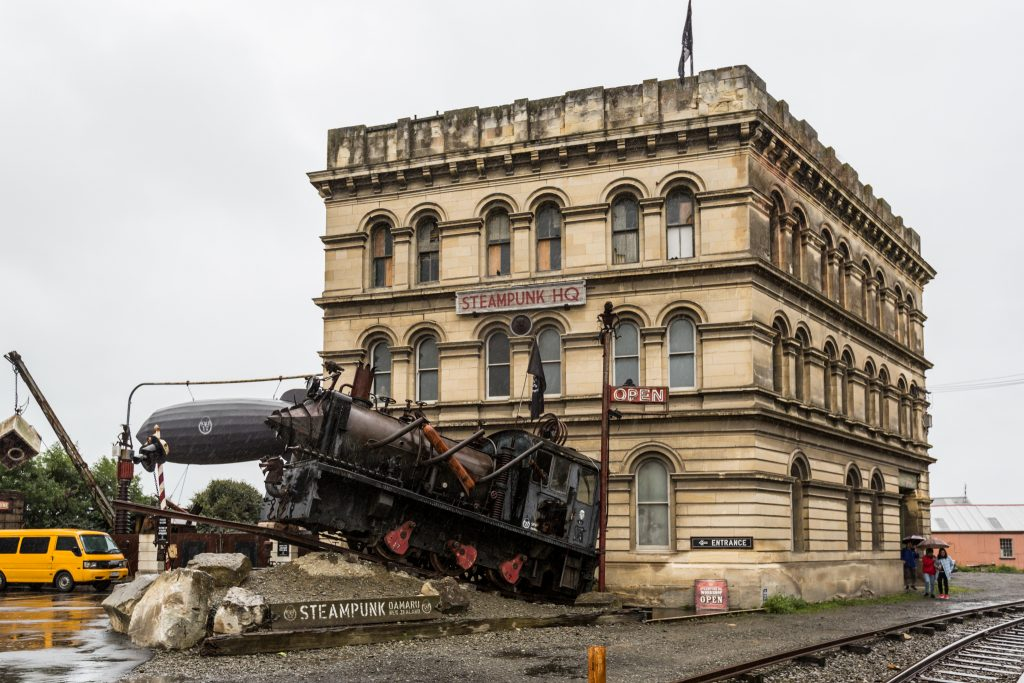 steampunk headquarters oamaru new zealand