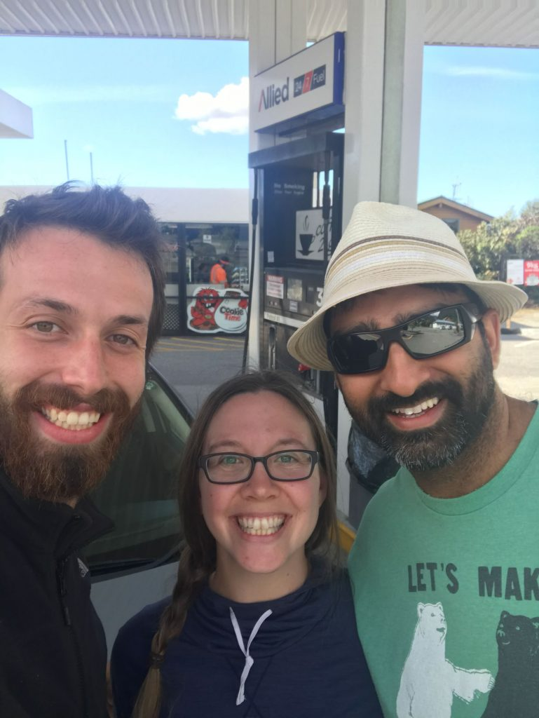 picking up a hitchhiker in new zealand