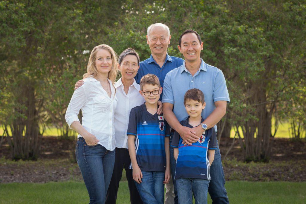 Edmonton Extended Family Photos