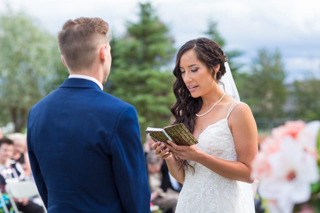 Brides vows