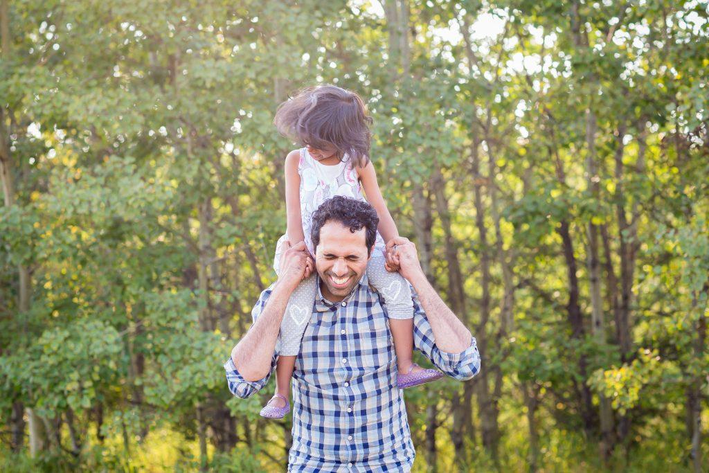 Fun family photographers in Edmonton