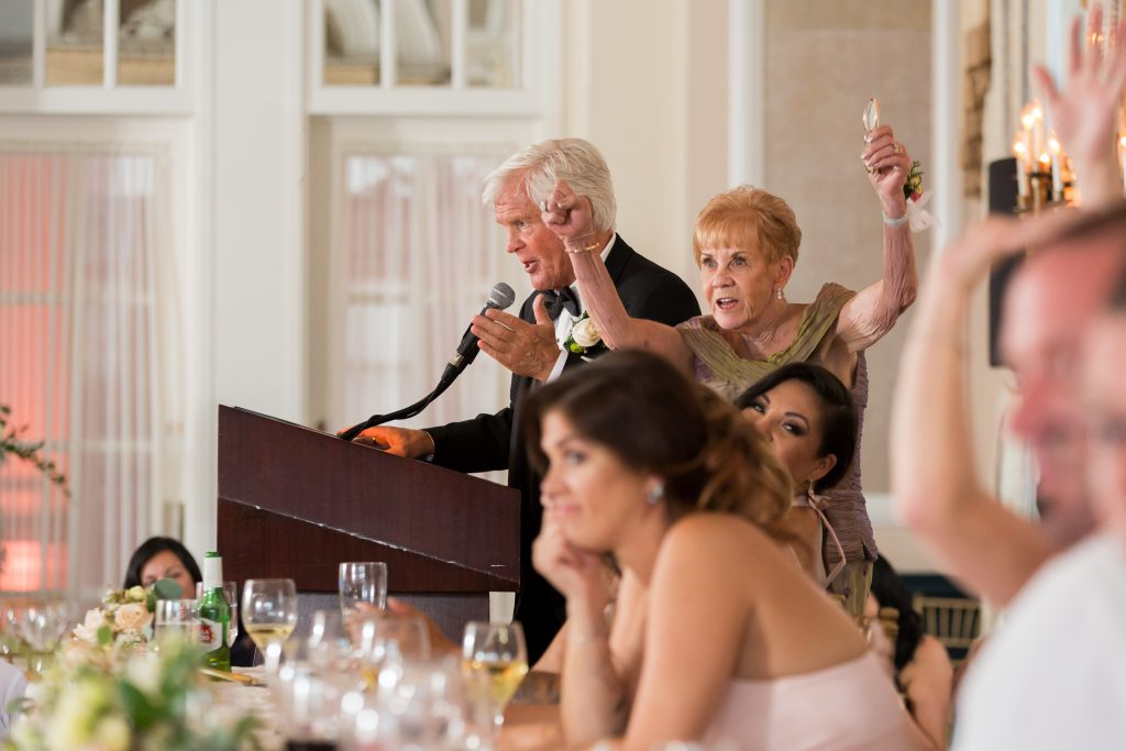 Parents of the bride speech