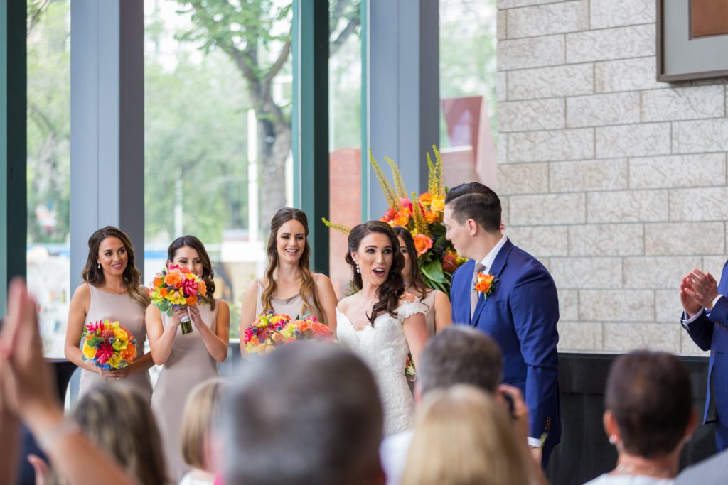 Winspear theatre wedding photos