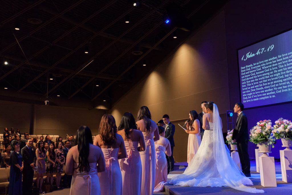 edmonton wedding ceremony north pointe church