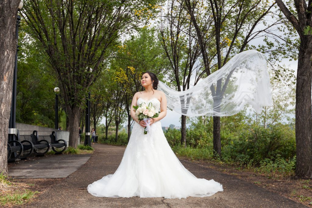 bridal portrait location edmonton