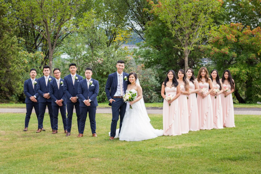 edmonton river valley wedding photos