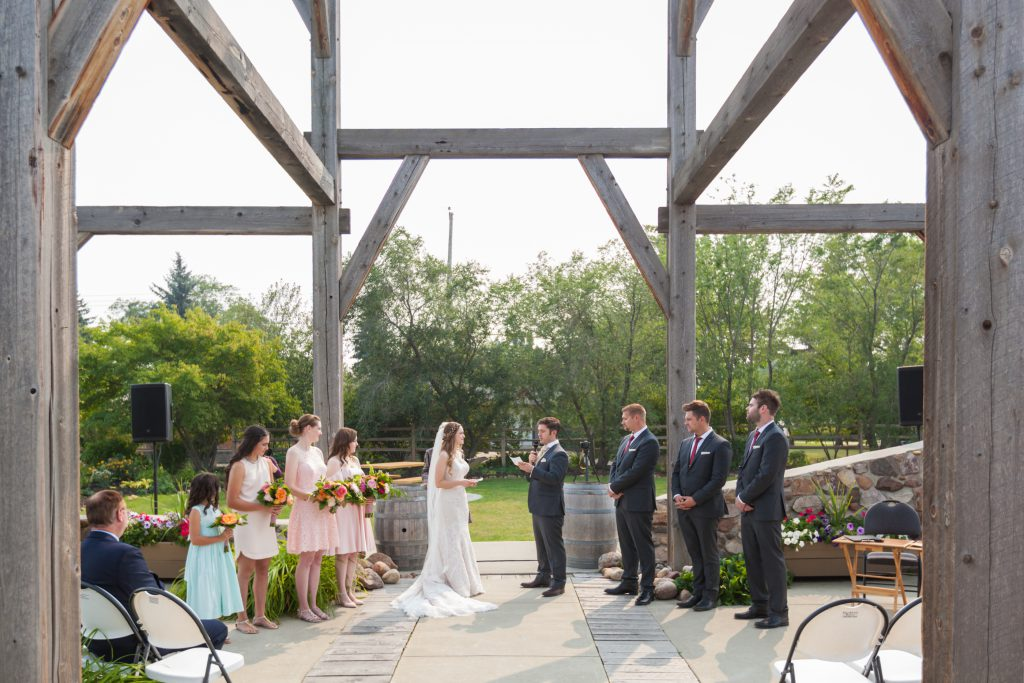 Leduc wedding ceremony venue