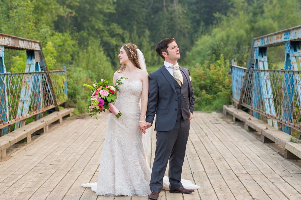 whitemud ravine wedding photos