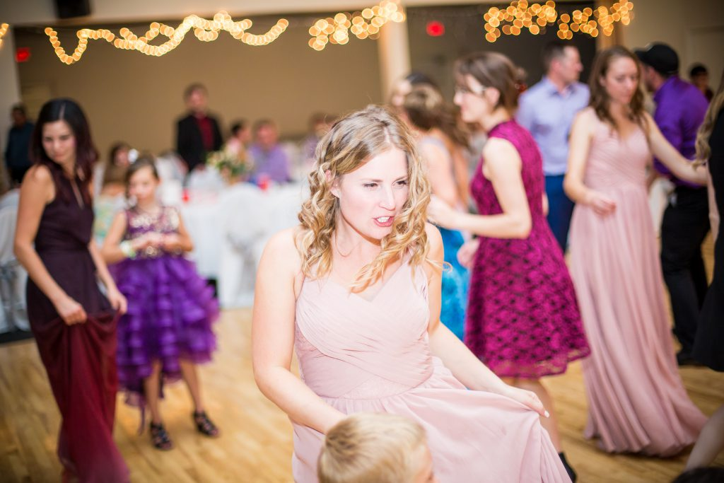 country wedding at westward community hall