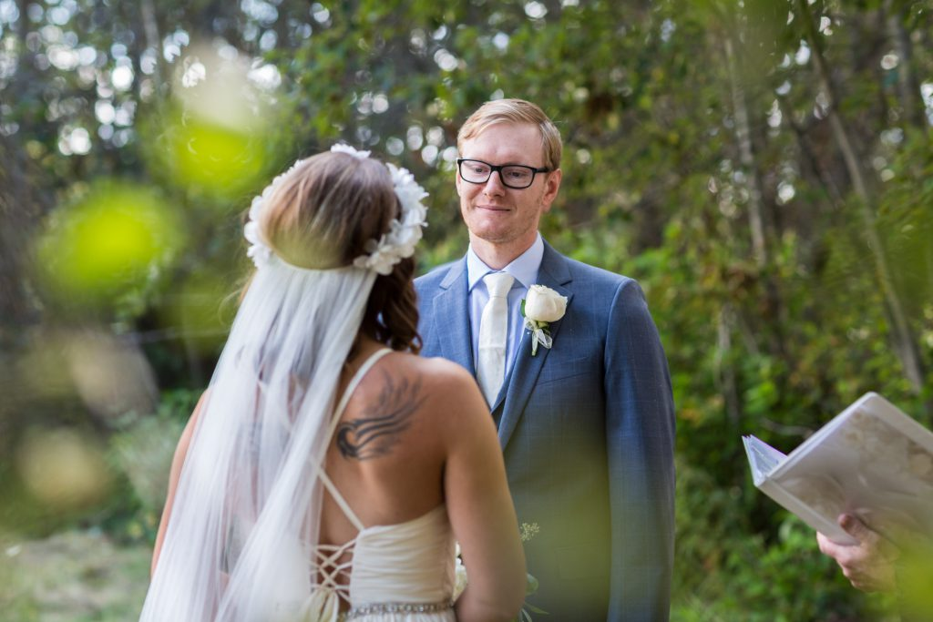 romantic outdoor wedding edmonton