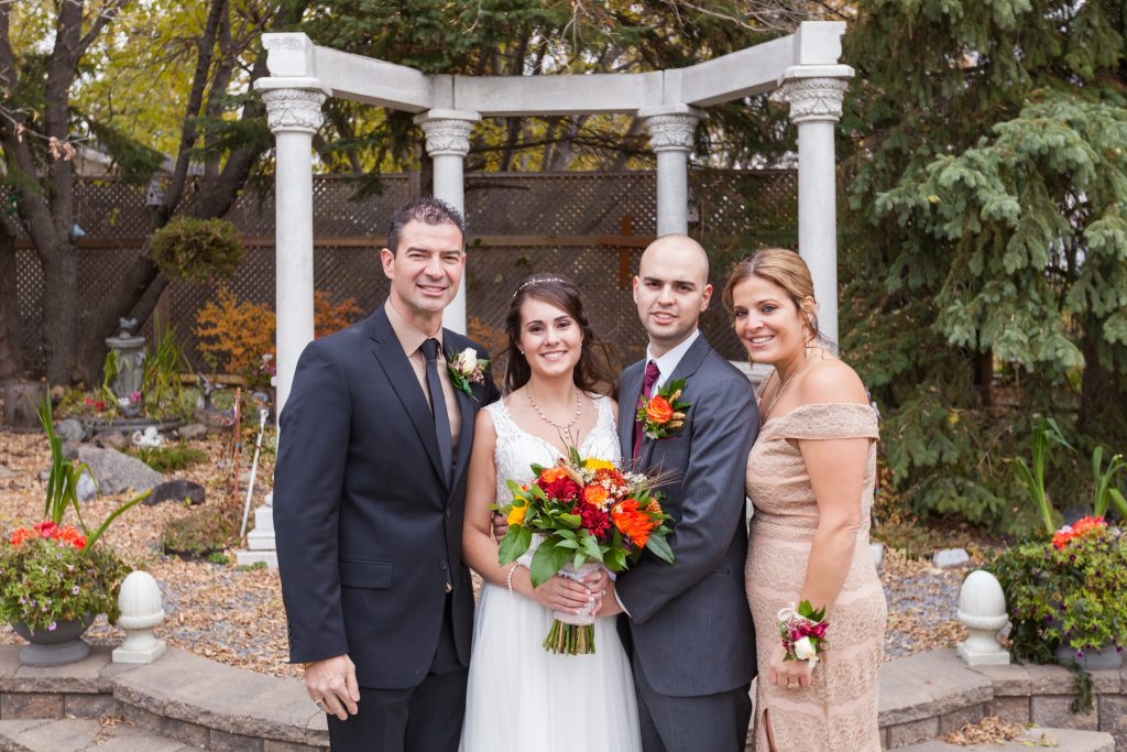 grooms family portrait