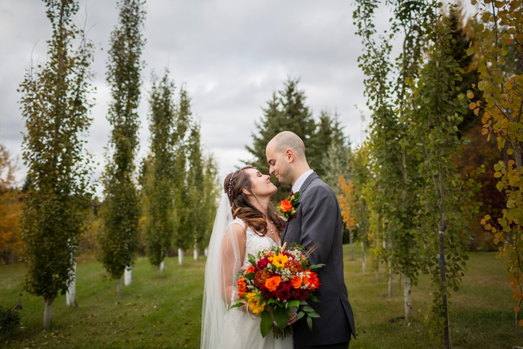 autumn wedding pictures edmonton