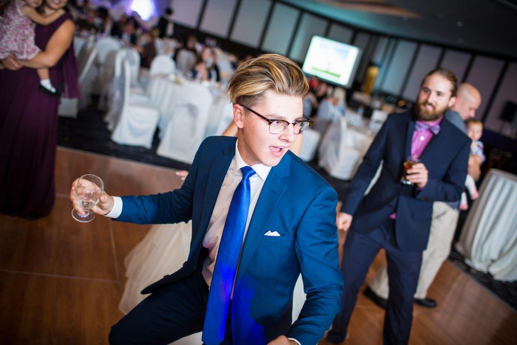 wedding dance at delta hotel ballroom