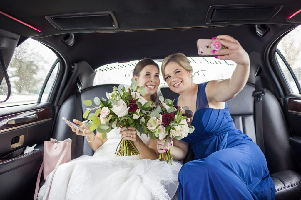 wedding limo photos