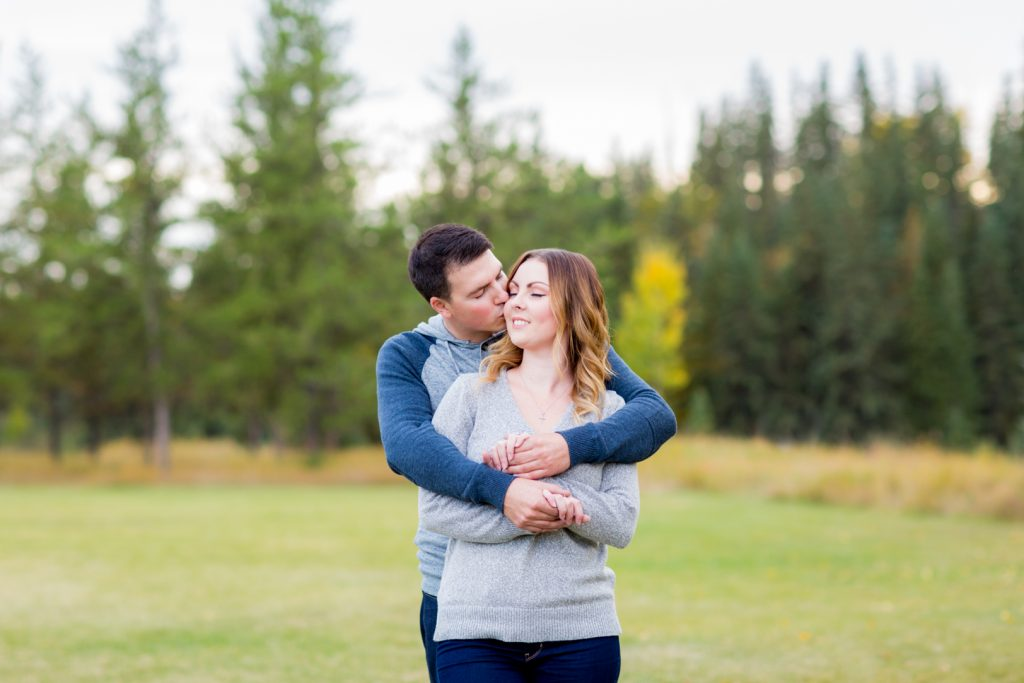 Snow Valley Engagement Photos