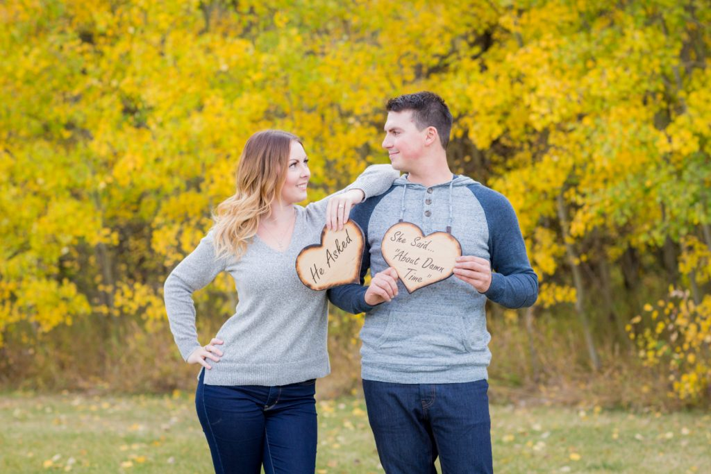 Snow Valley Engagement Pictures