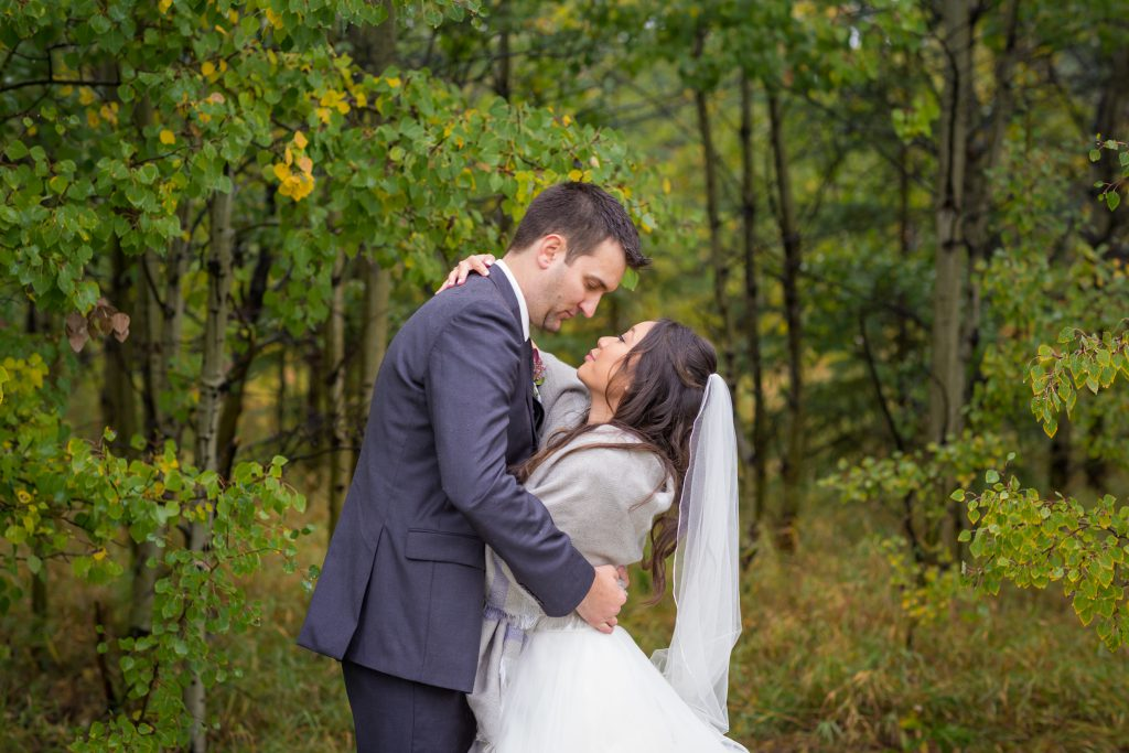 edmonton autumn wedding portrait location