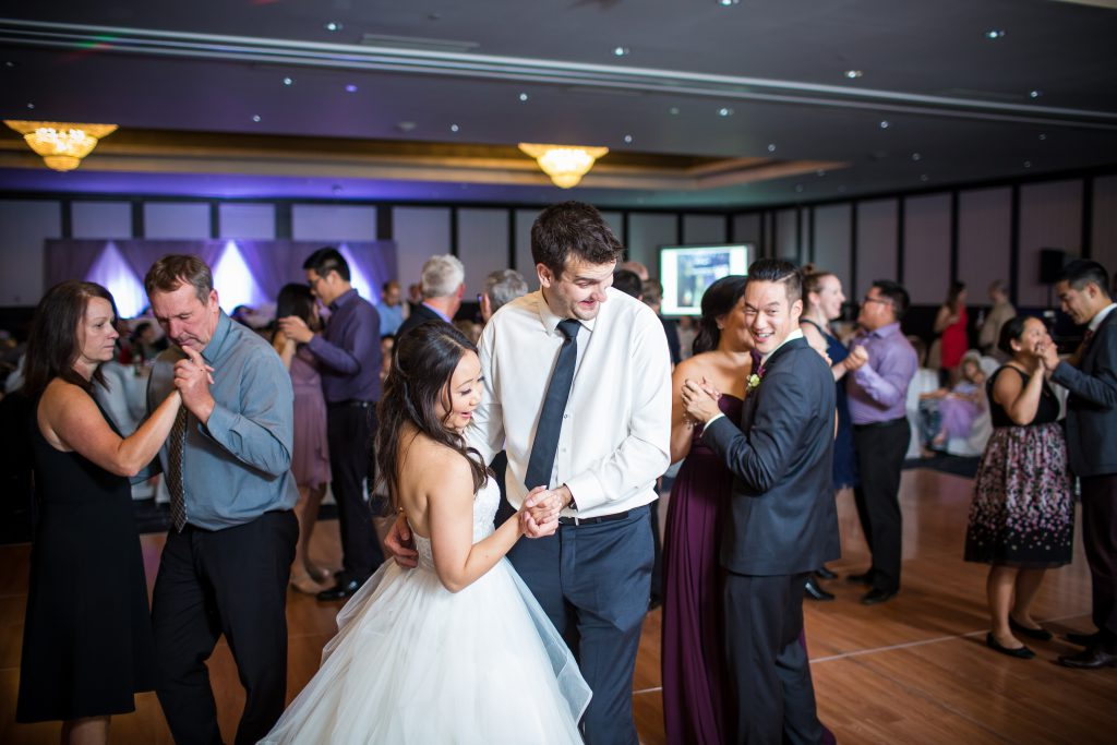 wedding dance at delta south edmonton
