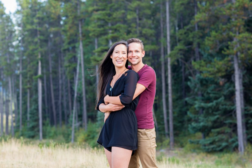Canmore engagement pictures