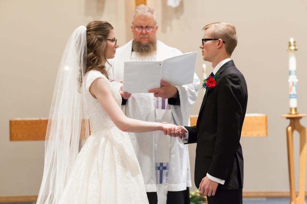 Church wedding ceremony edmonton