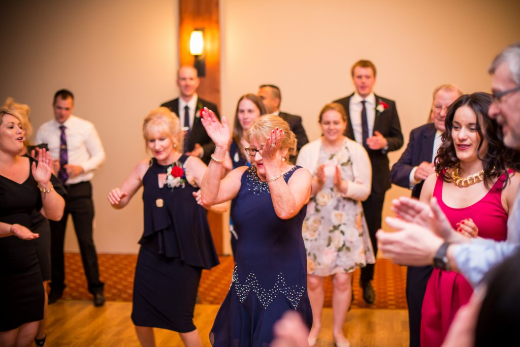 edmonton wedding reception at derrick golf club