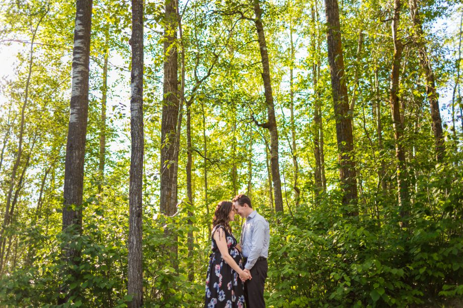 Chickakoo Lake Maternity Photos – Christen & Joe