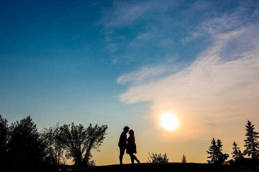 st albert engagement photographer