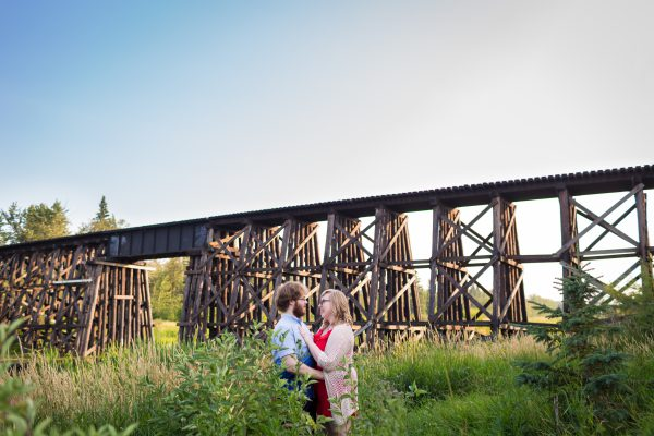 Lions Park Engagement Photos – Leanna & Zach