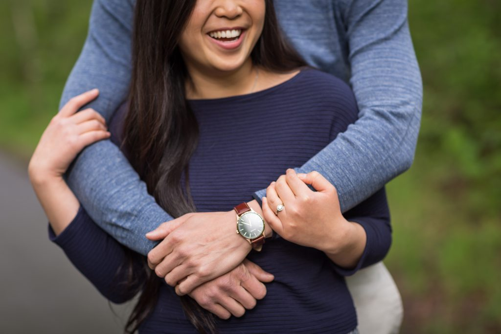 terwilliger park engagement photos