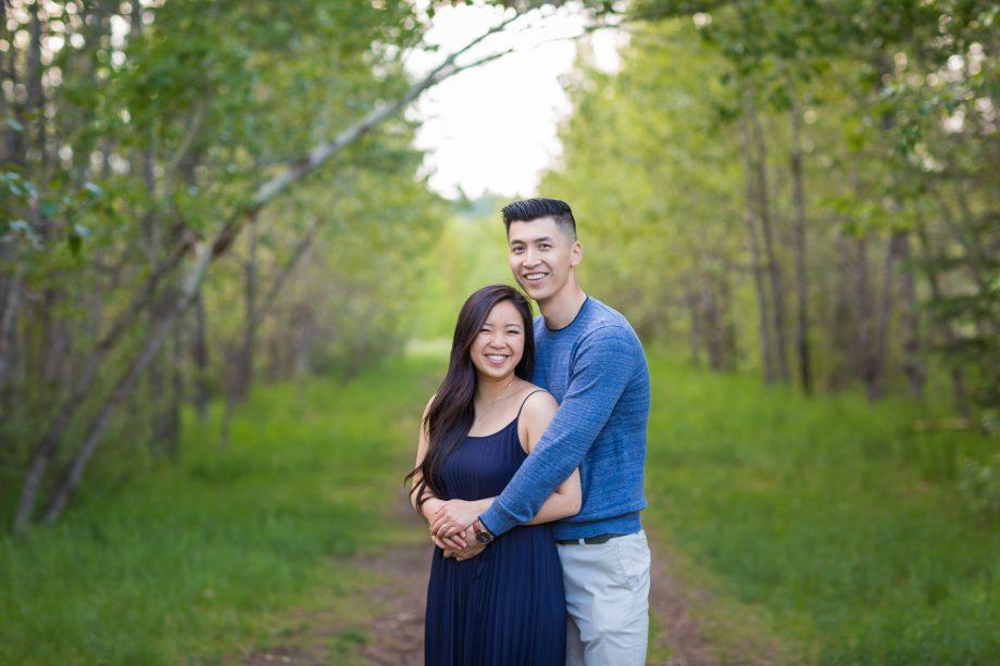 Terwilliger Park Engagement – Duy & Rebecca