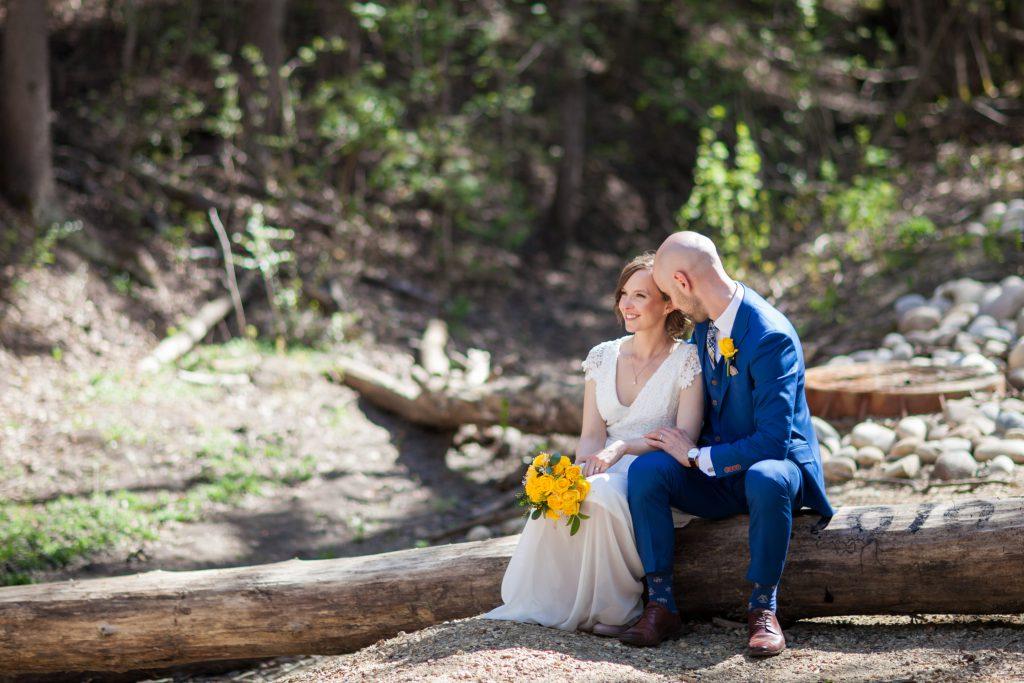 wedding photos at mill creek ravine