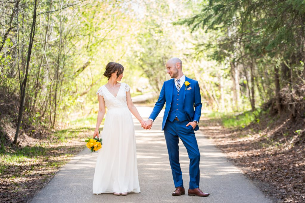 Mill Creek ravine wedding