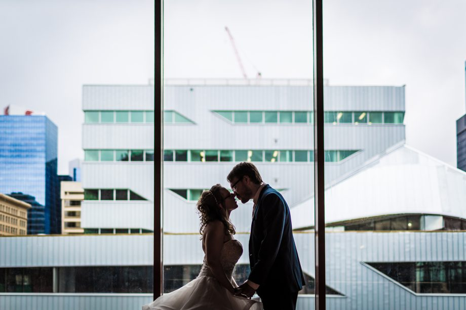 Citadel Theatre Wedding – Staci & Kyle