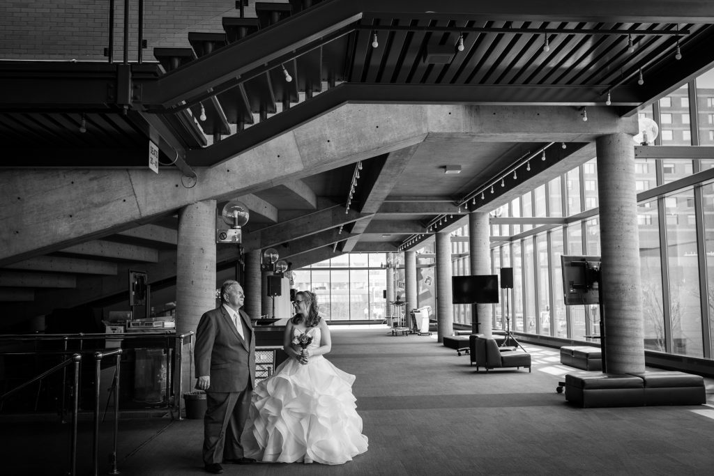 bride getting ready at citadel theatre