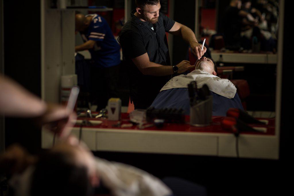 gentlemens barber bonnie doon mall