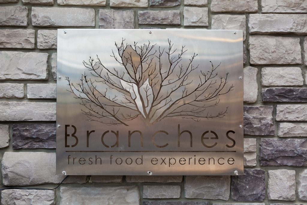 branches restaurant wedding reception