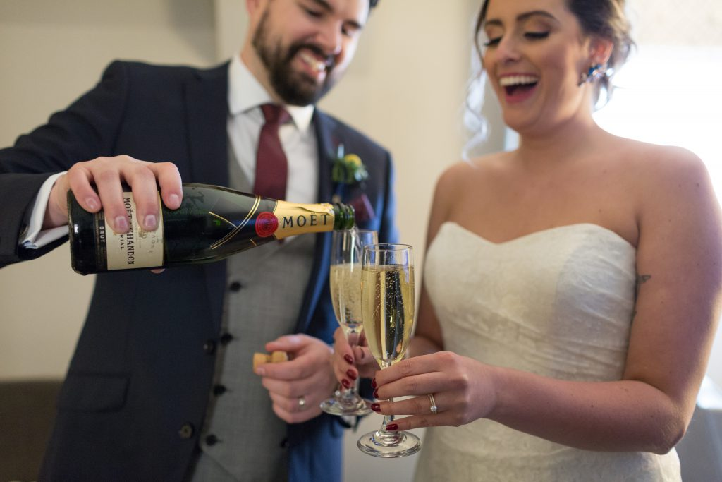 champagne toast for wedding