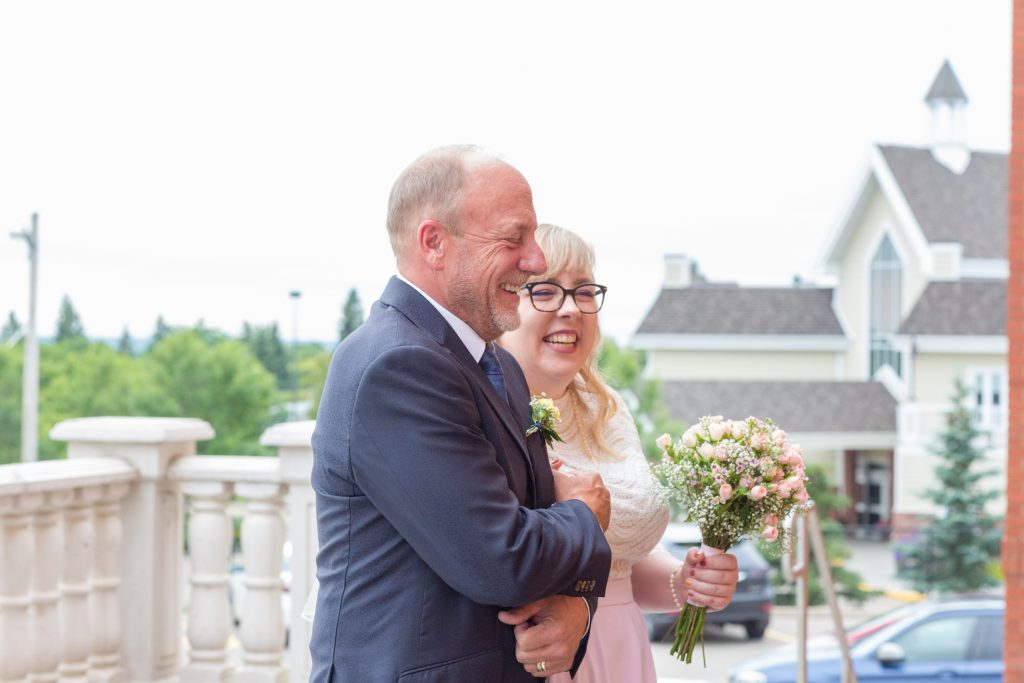 St Albert Catholic Parish wedding ceremony