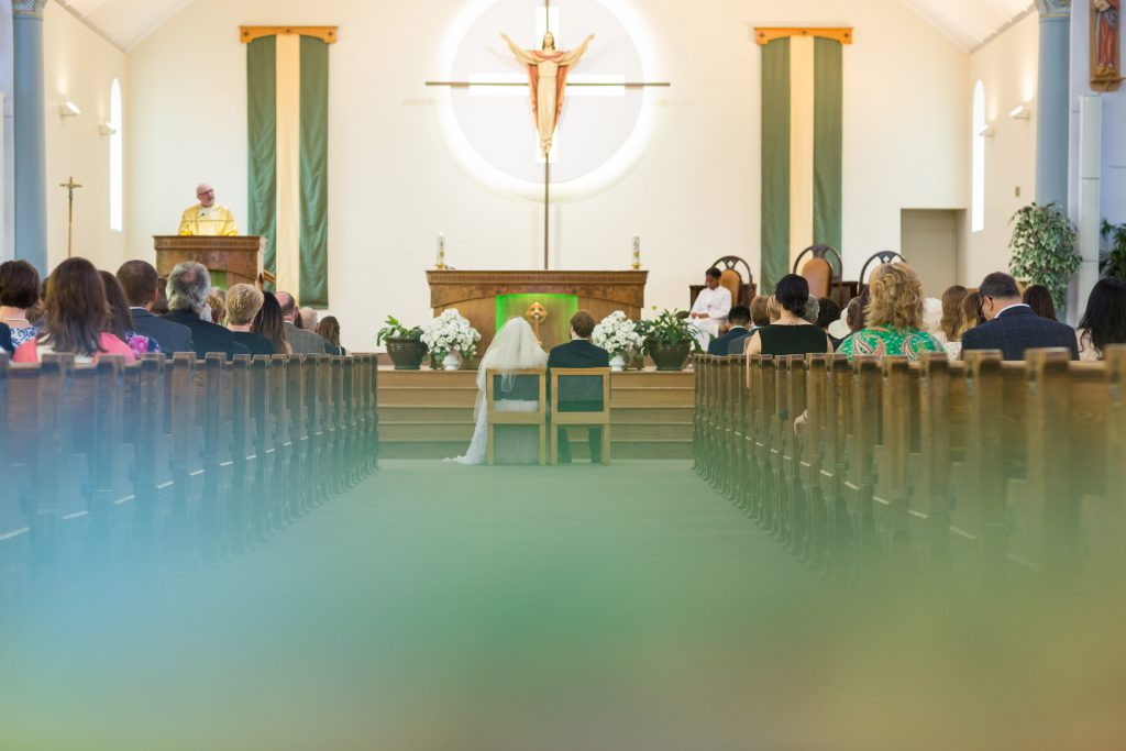 Ceremony and Mass at St Albert Parish