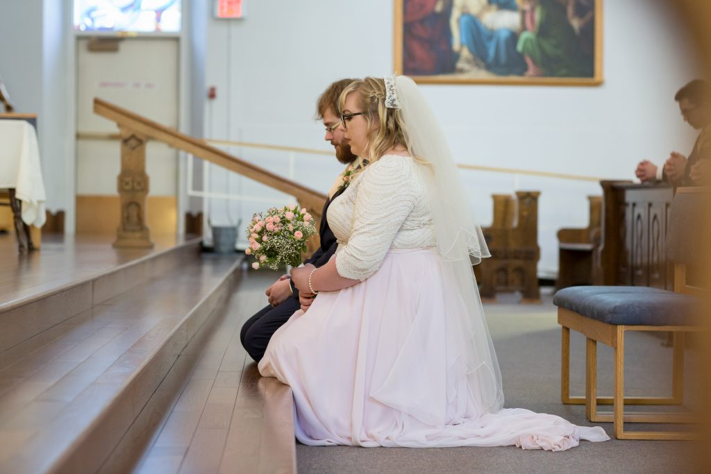 Catholic wedding ceremony photos
