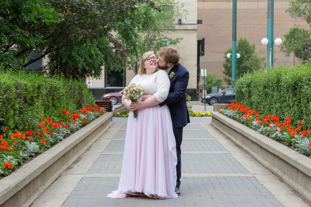 downtown wedding photo location